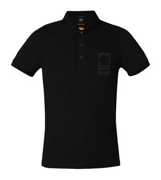 Hugo Boss Black Paule Flag Athleisure Polo T-Shirt