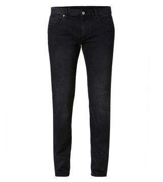 Armani Exchange Black Denim Urban Vibes Slim Jeans