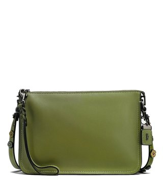 Coach Green Soho Utility Cross Body Bag