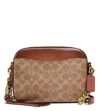 69b19b006daf Coach Rust Signature Canvas Camera Cross Body Bag ...