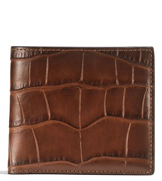 Coach Saddle Double Billfold Wallet
