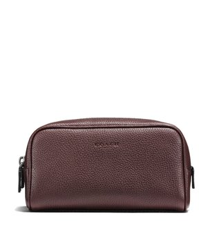 Coach Oxblood Dopp Kit 18 Pouch