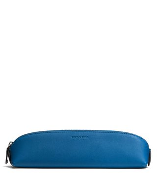Coach Denim Pencil Case Pouch