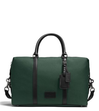 Coach Racing Green & Black Explorer Duffle Bag