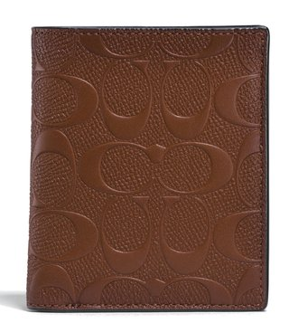 Coach Saddle Signature Card Case