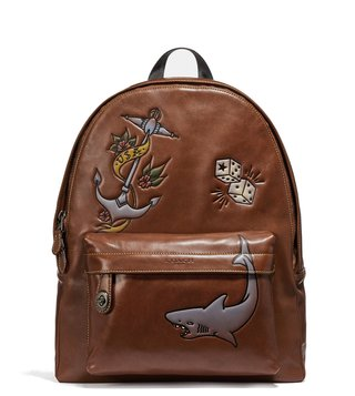 Coach Saddle Campus Backpack