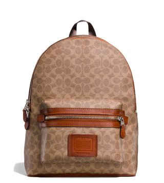 Coach Khaki Academy Backpack