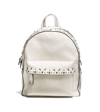 Coach Chalk Campus Prairie Rivets Backpack