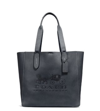 Coach Midnight Navy Grove Tote