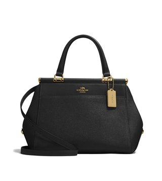 Coach Black Grace Satchel