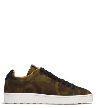 Coach Saddle Wild Beast C101 Low Top Sneakers