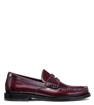 Coach Cabernet Manhattan Loafers