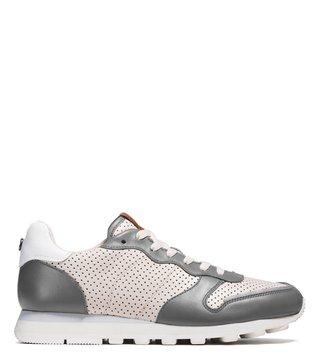 Coach Chalk & Grey C118 Runner Sneakers