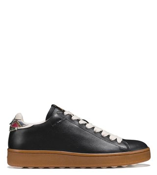 Coach Black C101 Tattoo Tooling Sneakers