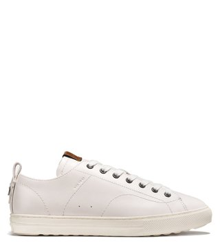 Coach White C121 Low Top Sneakers