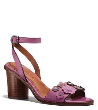 Coach Primrose Tea Rose Mid Sandals