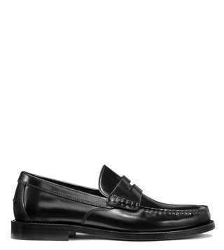 Coach Black Manhattan Loafers