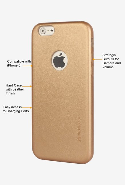 Stuffcool Haut HTIP647-GLD Mobile Case Gold