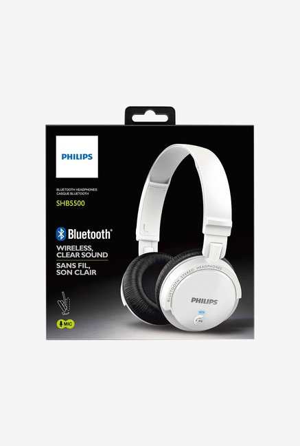 Philips SHB5500WT/27 Headphone White