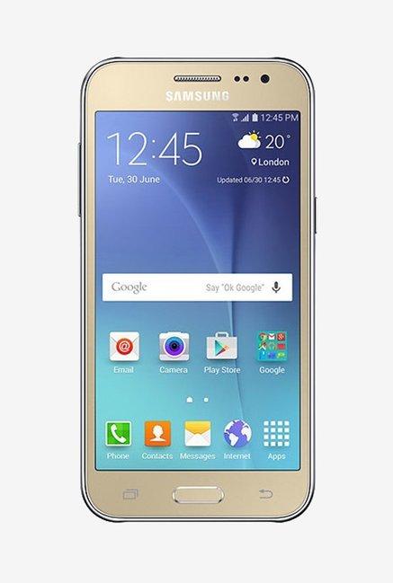 Samsung Galaxy J2 J200G 8GB (Gold) 1 GB RAM, Dual Sim 4G