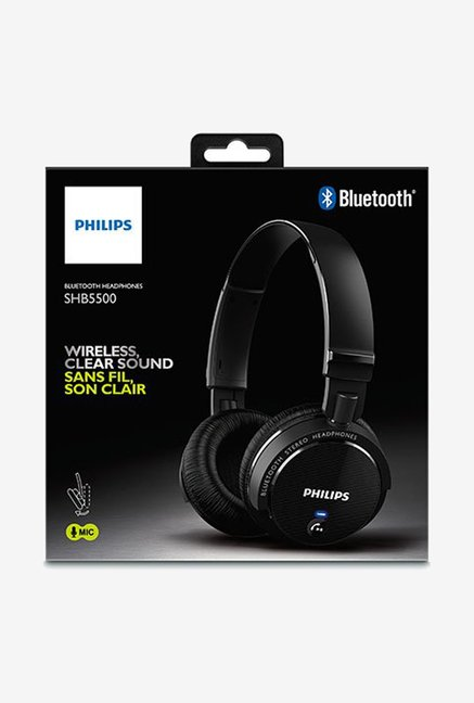 Philips SHB5500BK/27 Headphone Black