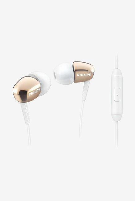Philips SHE3905GD/00 In the Ear Headphone Gold