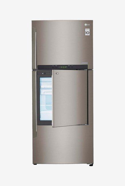 LG Double Door GC-D432HLAM Refrigerator Stainless Steel