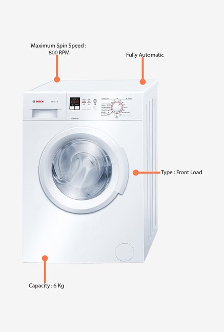 Bosch 6Kg WAB16160IN Washing Machine White