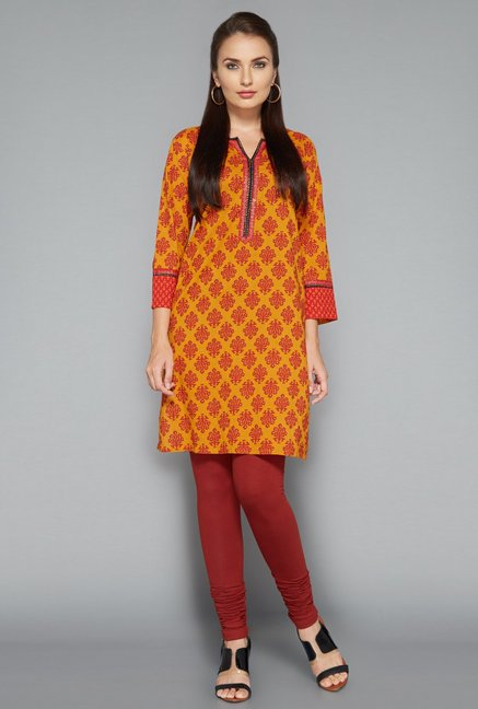 Utsa Brown Lycra Churidar
