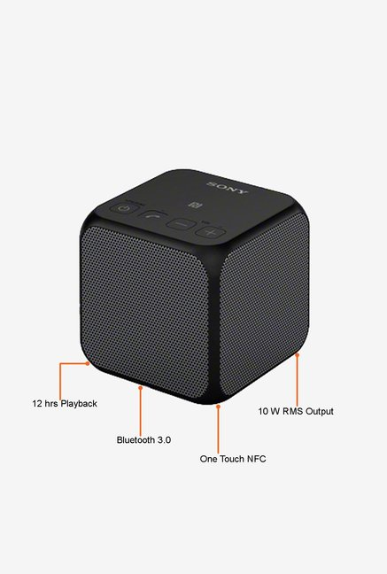 SONY SRS-X11/BC Bluetooth Speaker Black