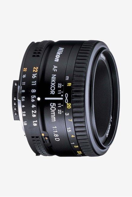 Nikkor AF NIKKOR 50mm f/1.8 Lens Black