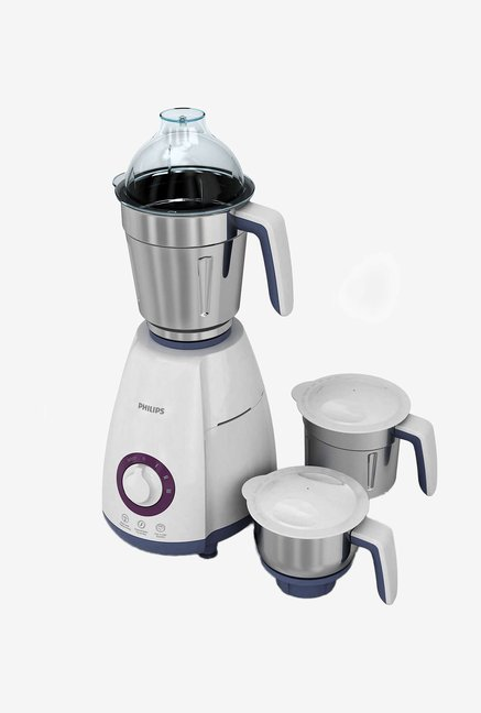ae8f60f95fa Philips HL7699 00 750 Watts Mixer Grinder (White and Blue) online at ...