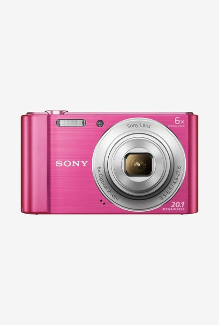 SONY Cyber-shot DSC-W810/P 20 MP Camera Pink