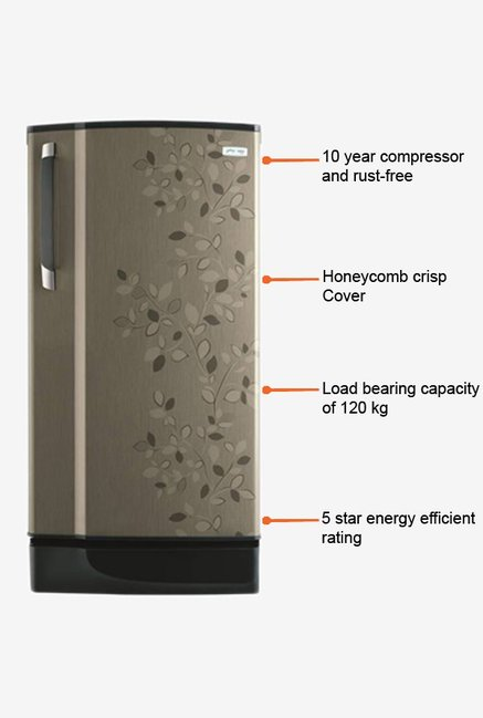 Godrej Single Door RD Edge CT 5.2 Refrigerator Carbon