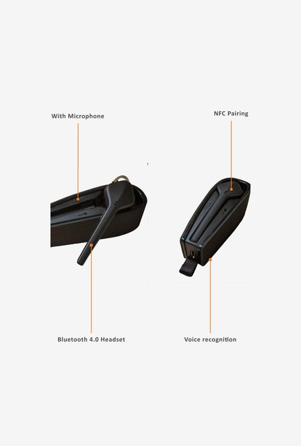 Plantronics Voyager Edge In the Ear Headphone Black