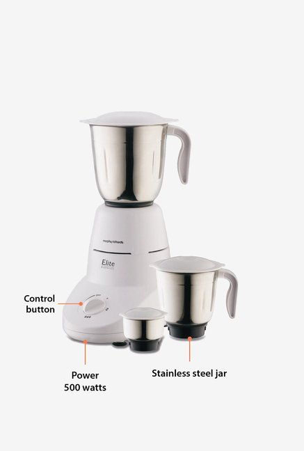 Morphy Richards  Elite Essentials 500W Mixer Grinder White