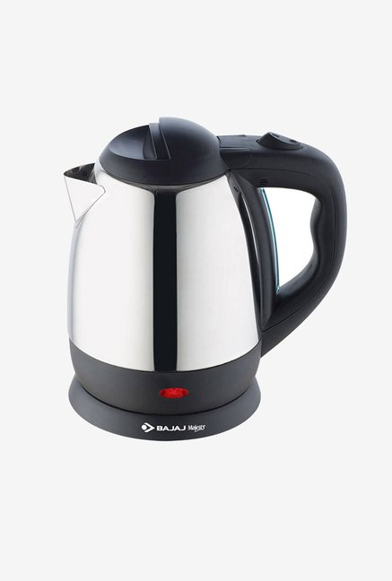 Bajaj 1.2L Majesty KTX 11 Electric Kettle Silver