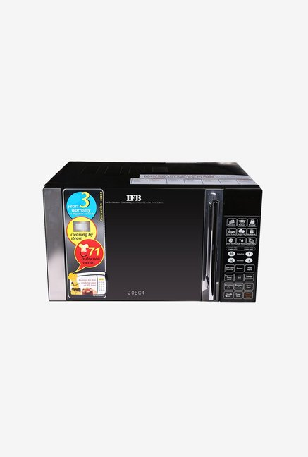 IFB 20BC4 20L Convection Microwave Oven  Black