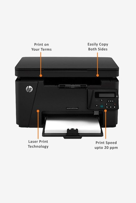 HP LaserJet Pro M126nw Printer Black