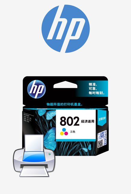 HP 802 CH562ZZ Ink Cartridge Tri-color