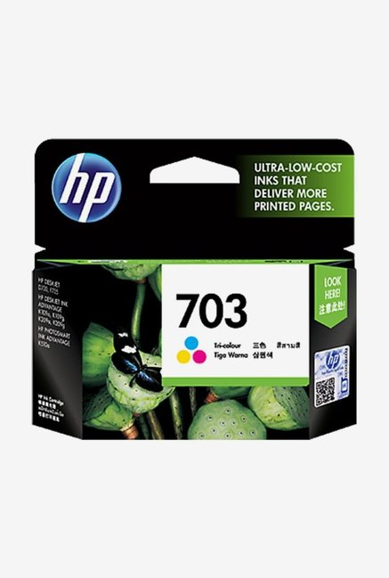 HP 703 CD888AA Ink Cartridge Tri-color