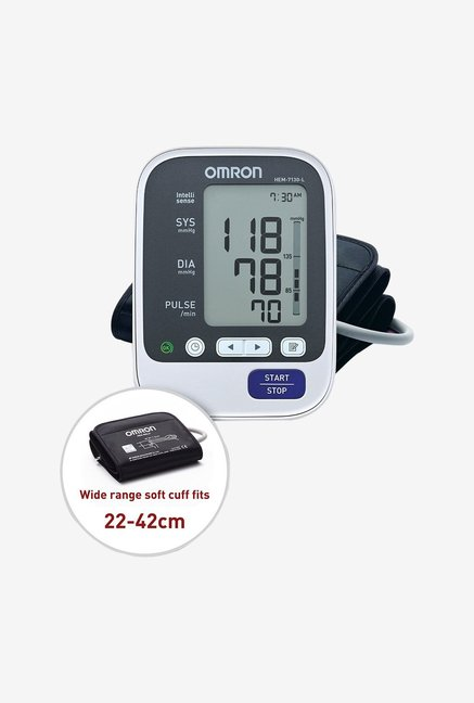 Omron Blood Pressure HEM-7130 L Monitor White