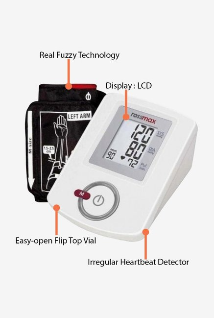Rossmax Blood Pressure AW151F Monitor White