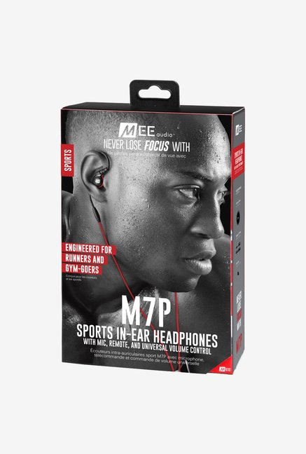MEEAudio M7P In the Ear Headphone Red