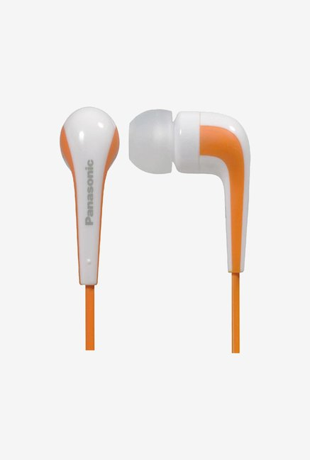 Panasonic RP-HJE140 In the Ear Headphone Orange