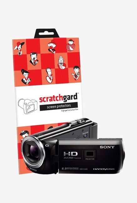 ScratchGard Sony HDR PJ380E Ultra Clear Screen Protector