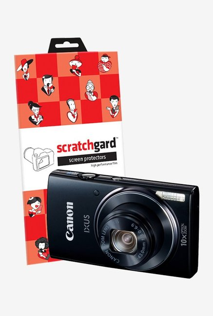 ScratchGard Canon ps IXUS 155 Ultra Clear Screen Protector