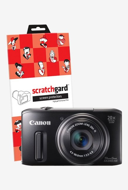 ScratchGard Canon SX 240HS Ultra Clear Screen Protector