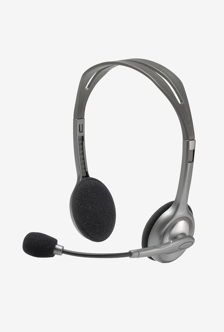 Logitech H111 Over Ear Headphone Grey
