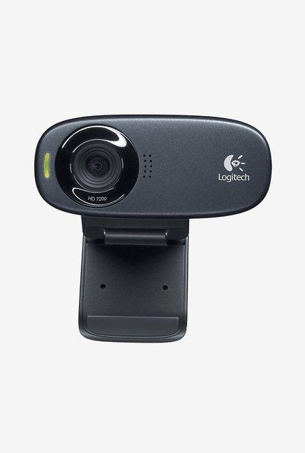 Logitech C310 HD Webcam Black